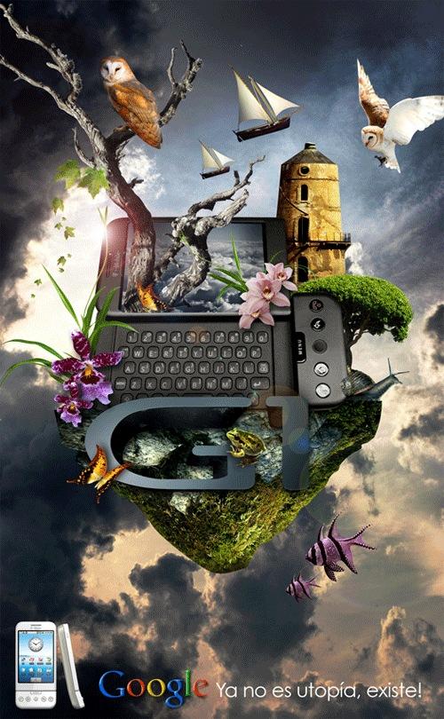 Креативный дизайн постера