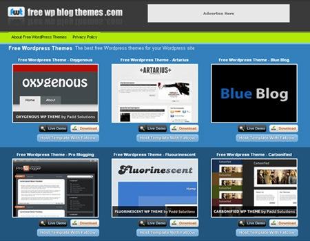 бесплатные темы для блога