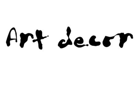 Размазанный шрифт с потеками краски