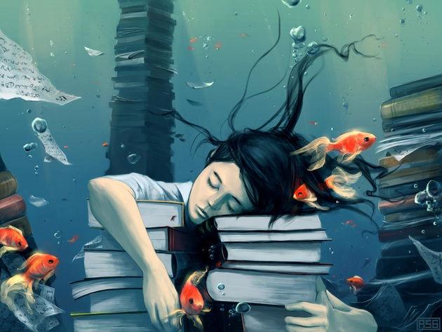 сон под водой
