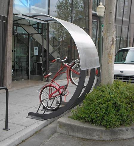 Арка для велосипеда