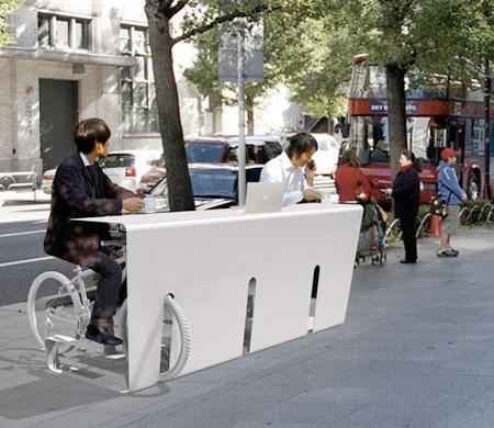 Стойка-стол для велосипедов