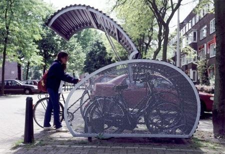 Ангар для велосипедов