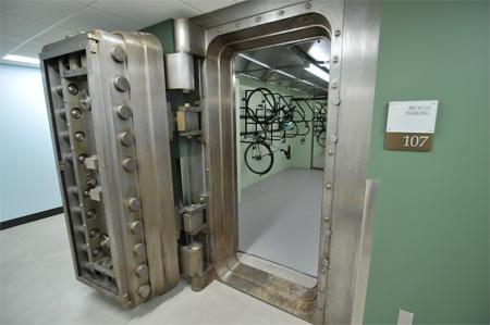 Велосипедный сейф