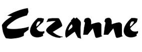 шрифты-кисти