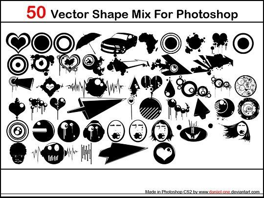 Микс векторных форм