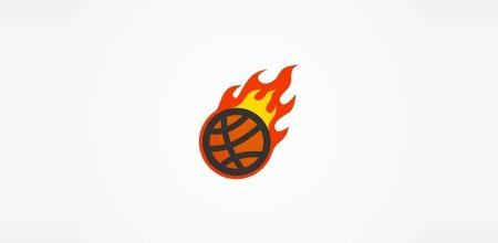 лого для баскетбольной команды