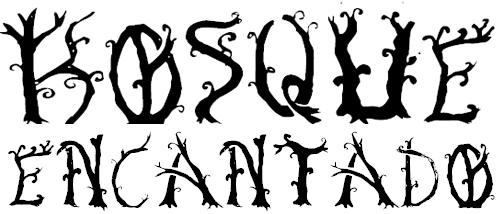 Шрифт с завитками