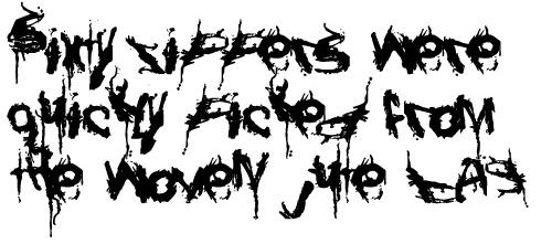 Размазанный шрифт