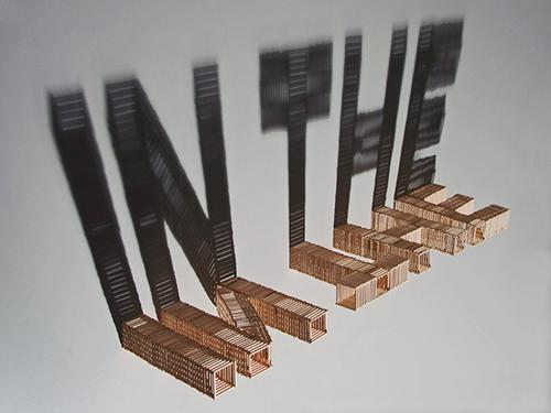 буквы из спичек