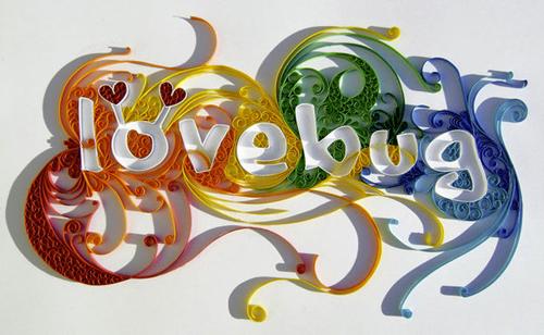 яркая типографика