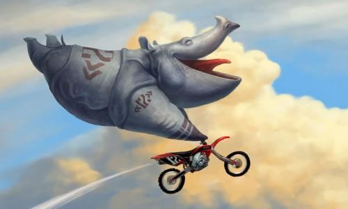 мото-носорог