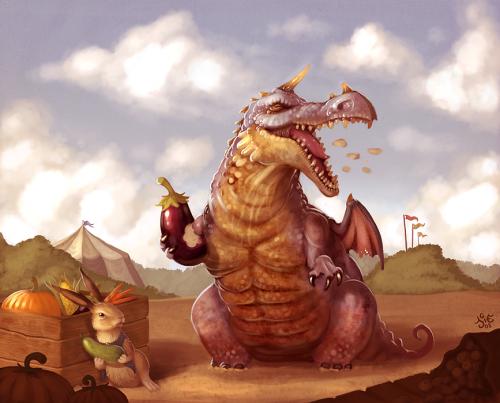 дракон-обжора