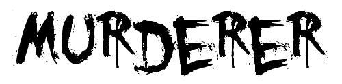 Гранж шрифт