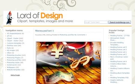 Сайт с PSD