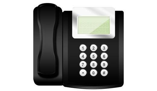 Иконка офисного телефона
