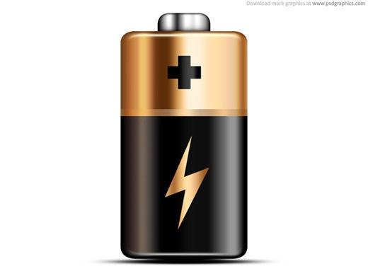 Иконка батарейки