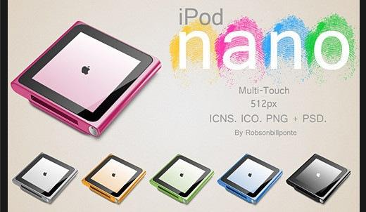 Иконка iPod nano Multi Touch
