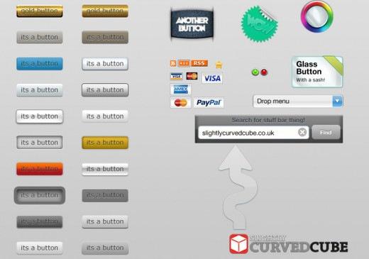 Кнопки для пользовательского интерфейса