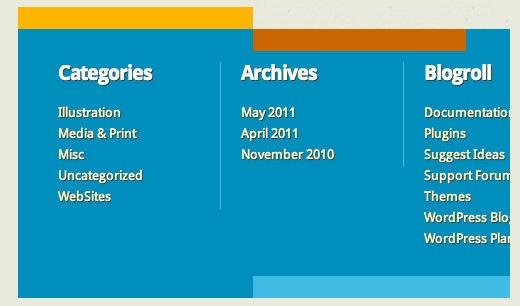 Бесплатная WordPress 3.1 тема