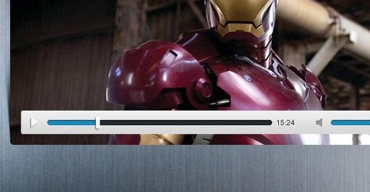 Бесплатный интерфейс видео-плеера