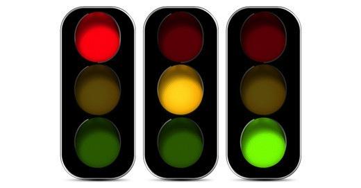 Иконки светофоров
