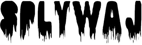 Потекший шрифт