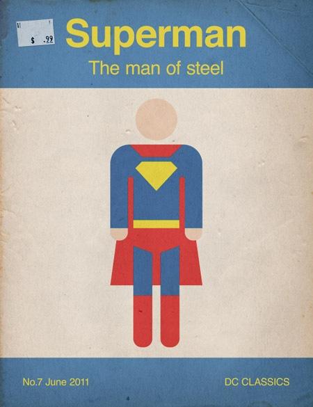 Ретро супермен