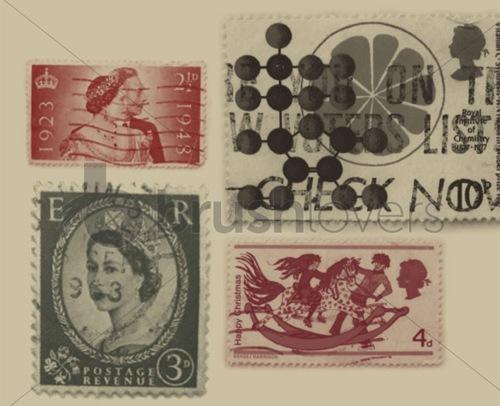 Ретро марки