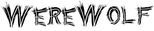 Шрифт с пробелами