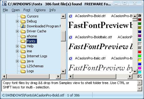 программа шрифты скачать бесплатно
