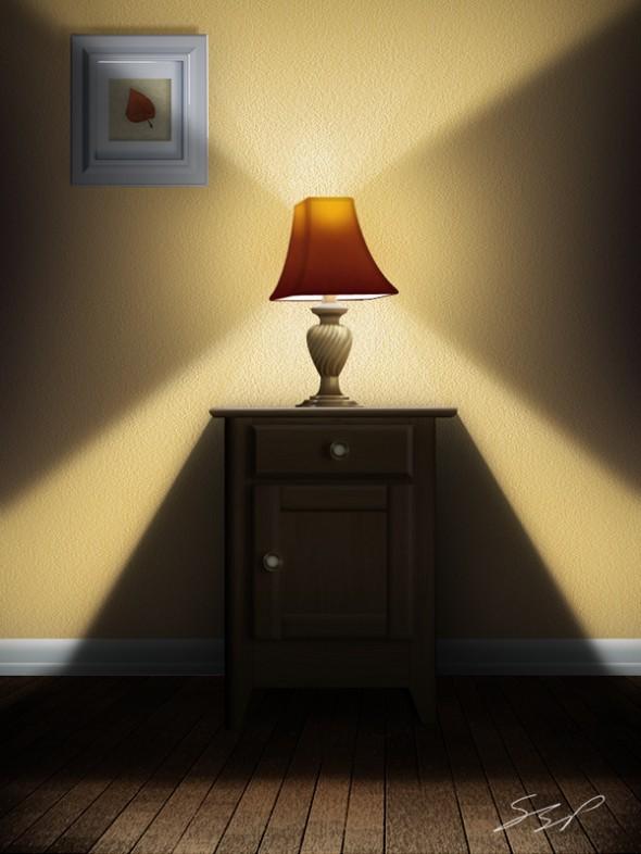 натюрморт в фотошопе: