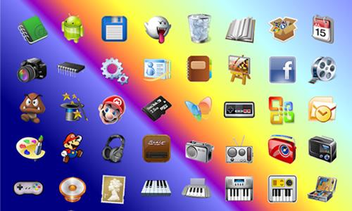 набор иконок для андроид - фото 5