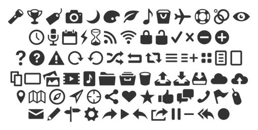 12 бесплатных шрифтов с символами