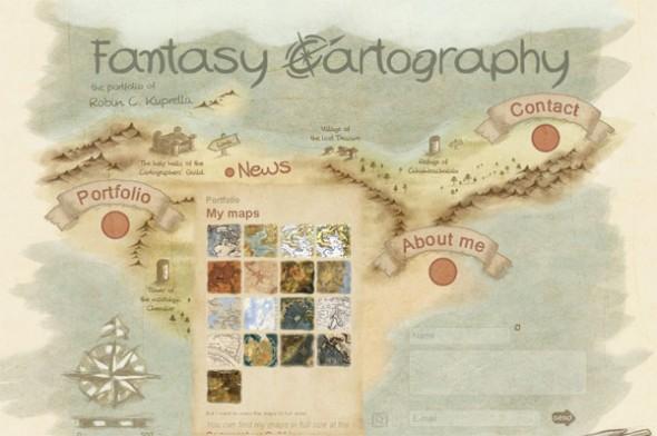 Здесь карта расположена на