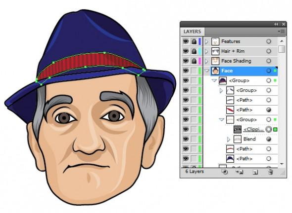 Создаем простой векторный аватар: www.dejurka.ru/tutorial/a_simple_vector_avatar