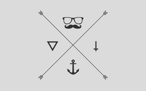 hipster logo 27