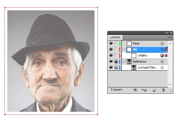 как сделать векторную аватарку: