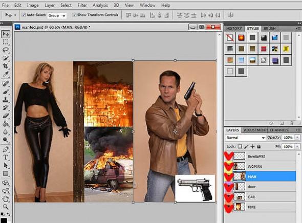 как редактировать фотографии в фотошопе img-1