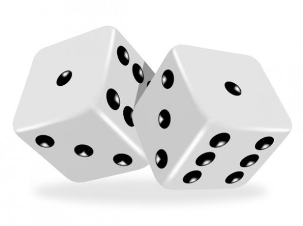 Игральные кубики средствами