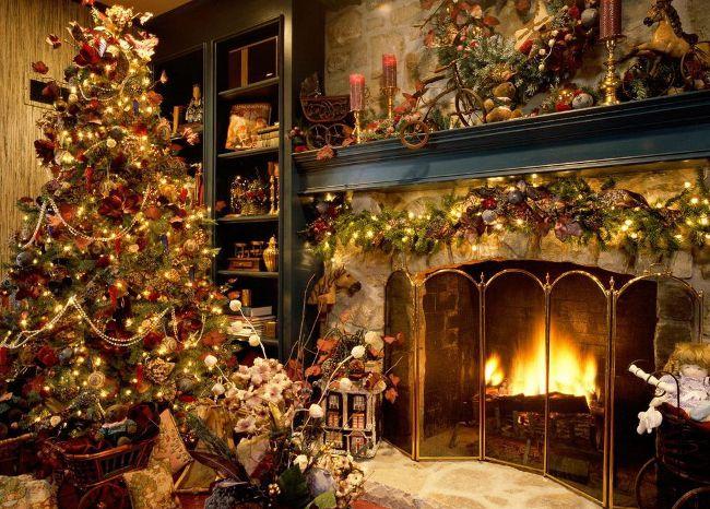 Очень красивые рождественские открытки