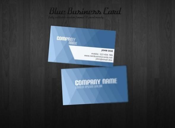 Designer visiting cards templates