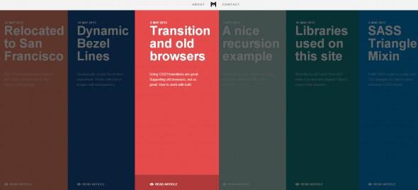 Flat дизайн сайтов примеры