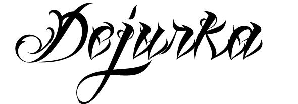 Шрифты для тату онлайн | Мама будет против
