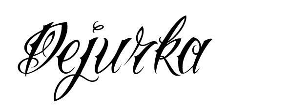Шрифты для тату программа