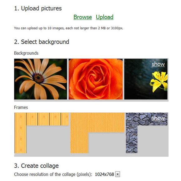 фотоколлаж онлайн из несколько фото