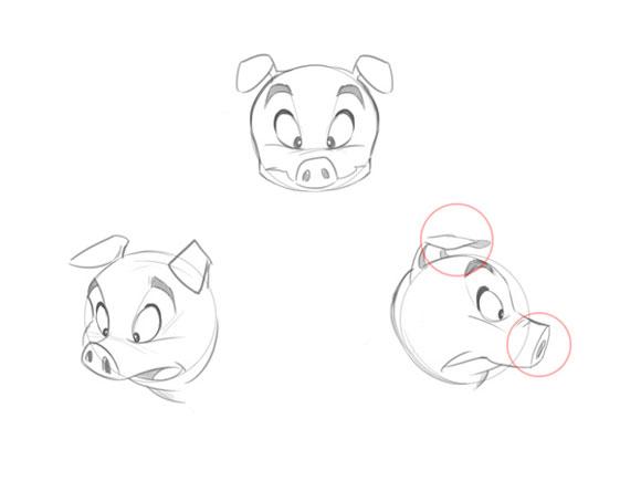 смайлики свинки: