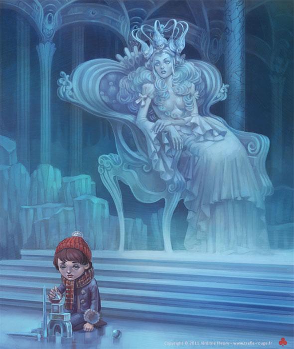 снежная королева персонаж из сказки