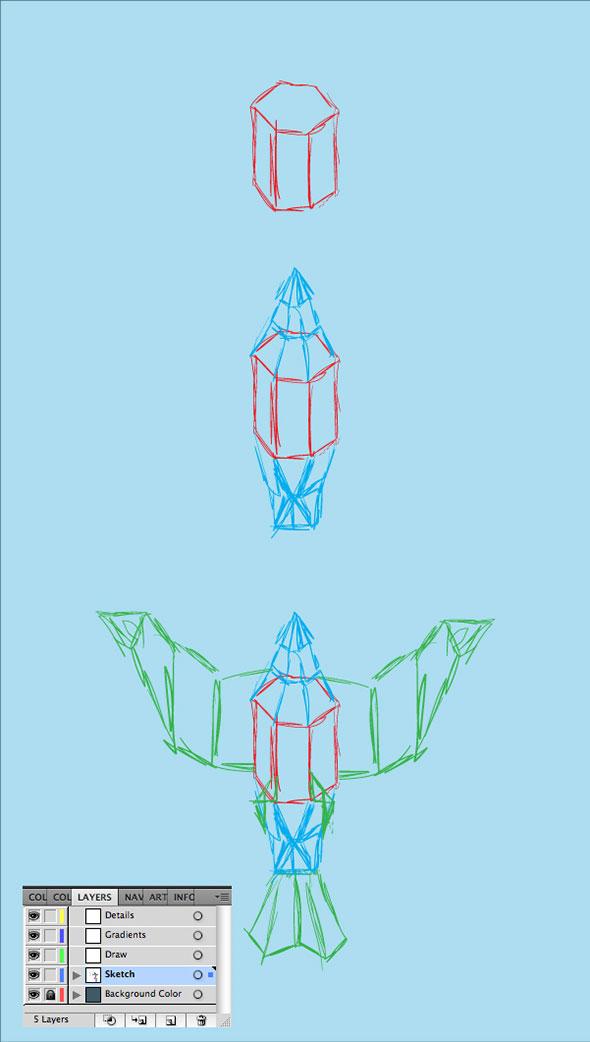 Paper-Bird-03sketch1
