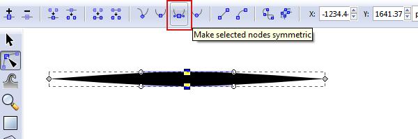 smooth the nodes